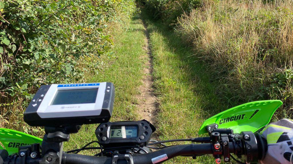 elektirsch offroad rijden E-tour Sur-ron Endurofun 1