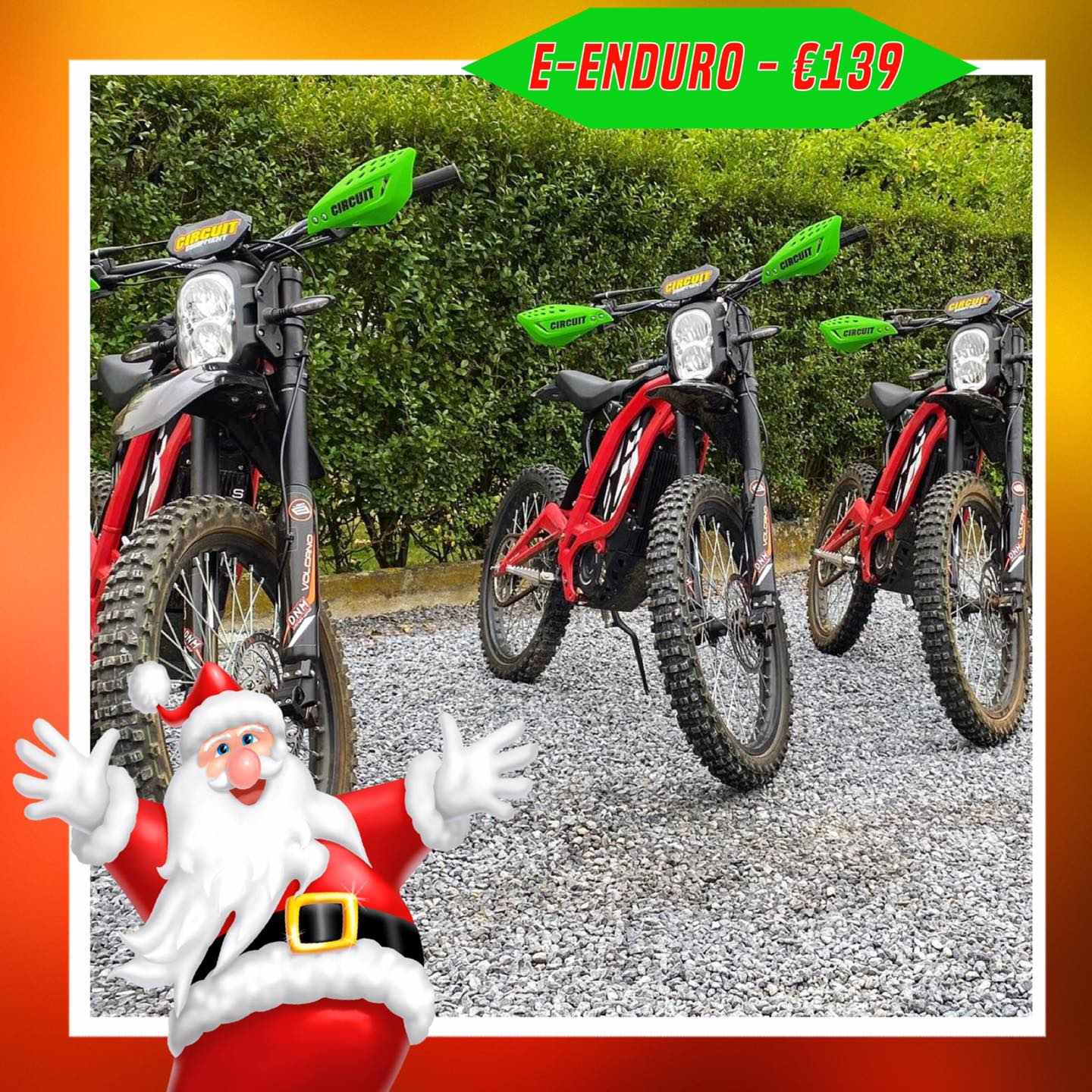 Kerst-initiaties Bilstain Endurofun 1