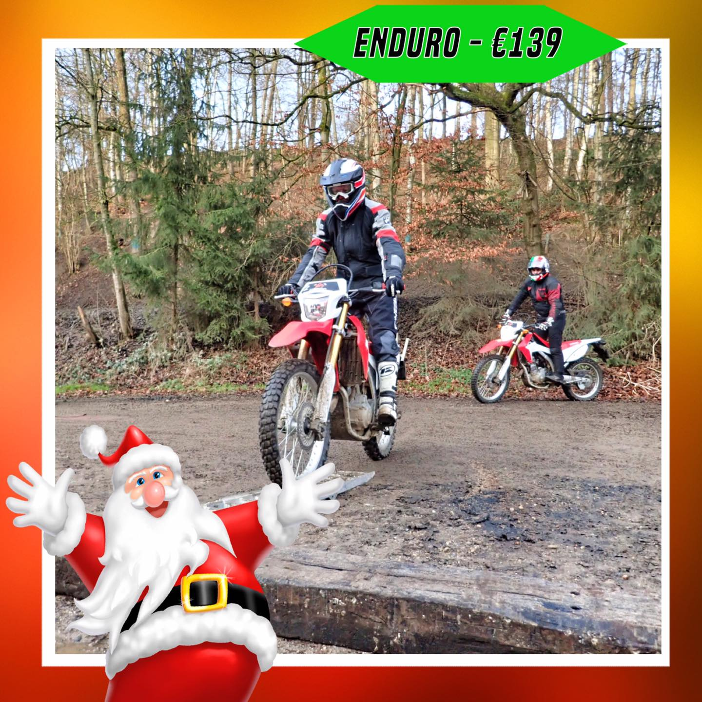 Kerst-initiaties Bilstain Endurofun 11