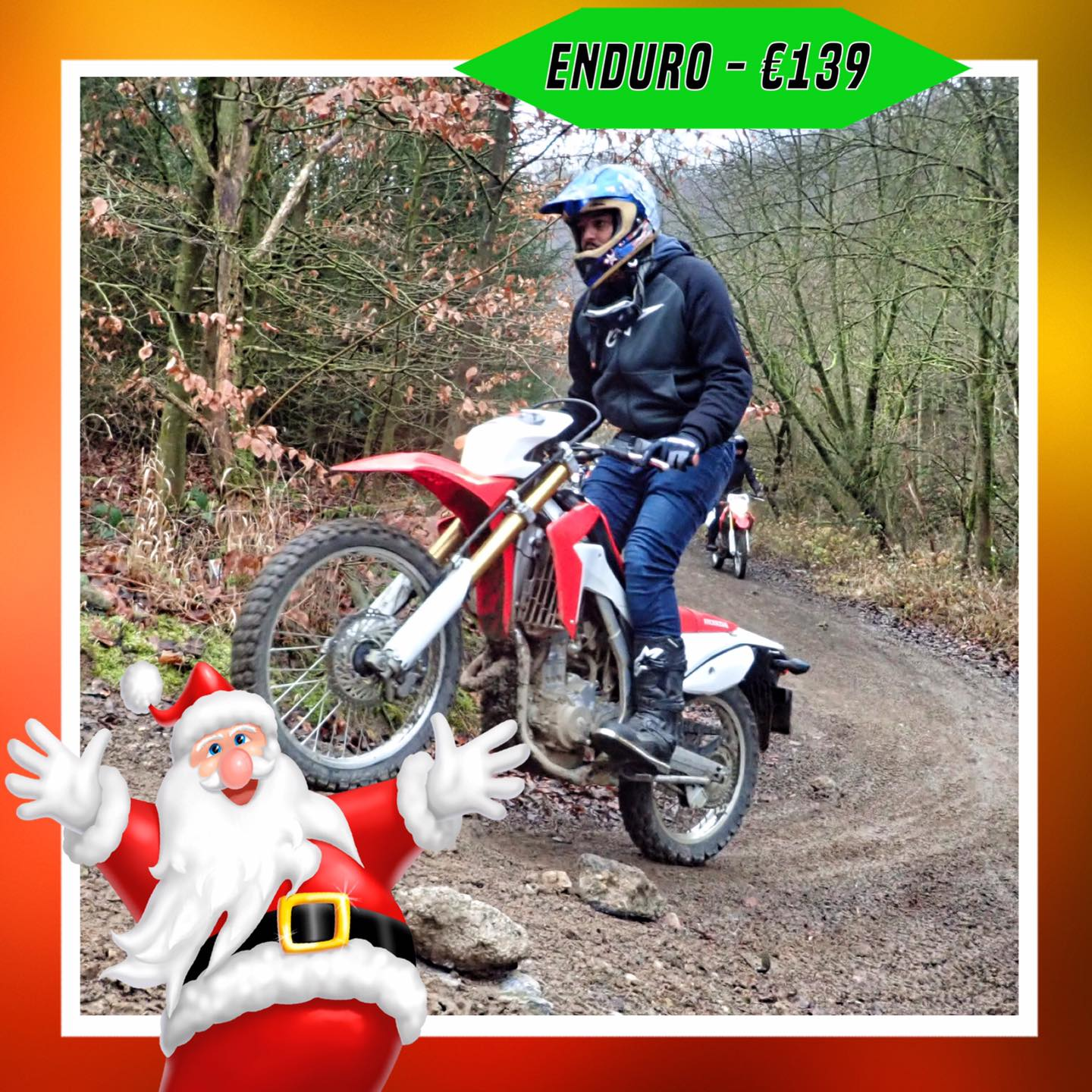 Kerst-initiaties Bilstain Endurofun 17