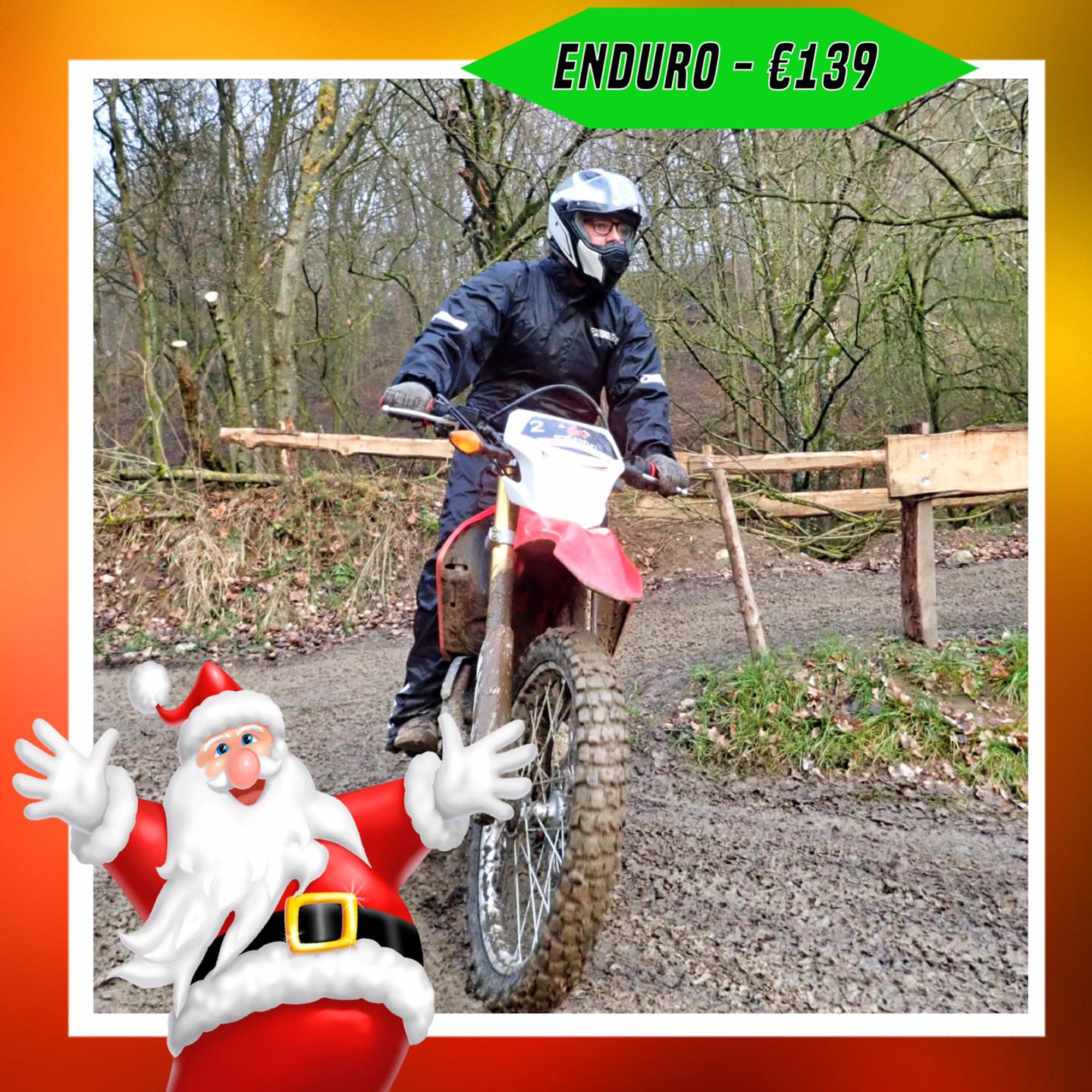 Kerst-initiaties Bilstain Endurofun 20