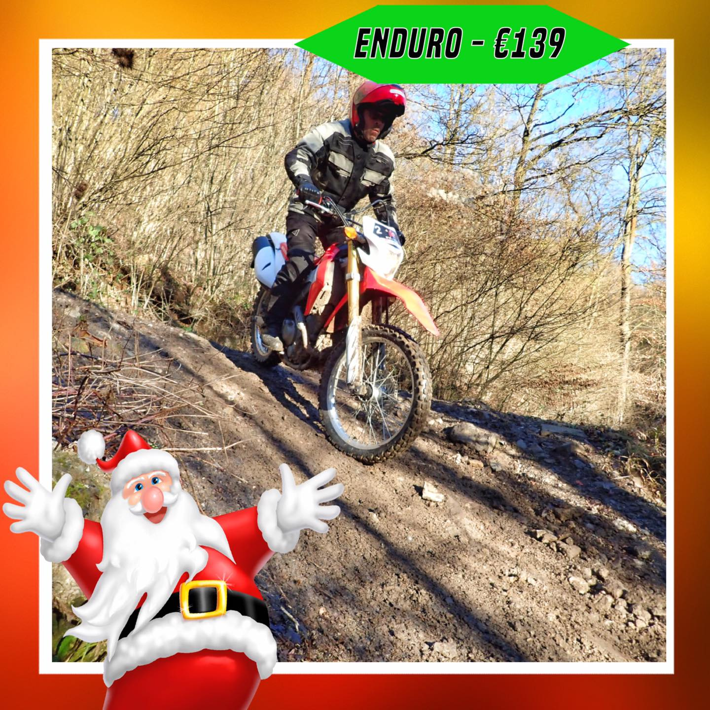 Kerst-initiaties Bilstain Endurofun 21