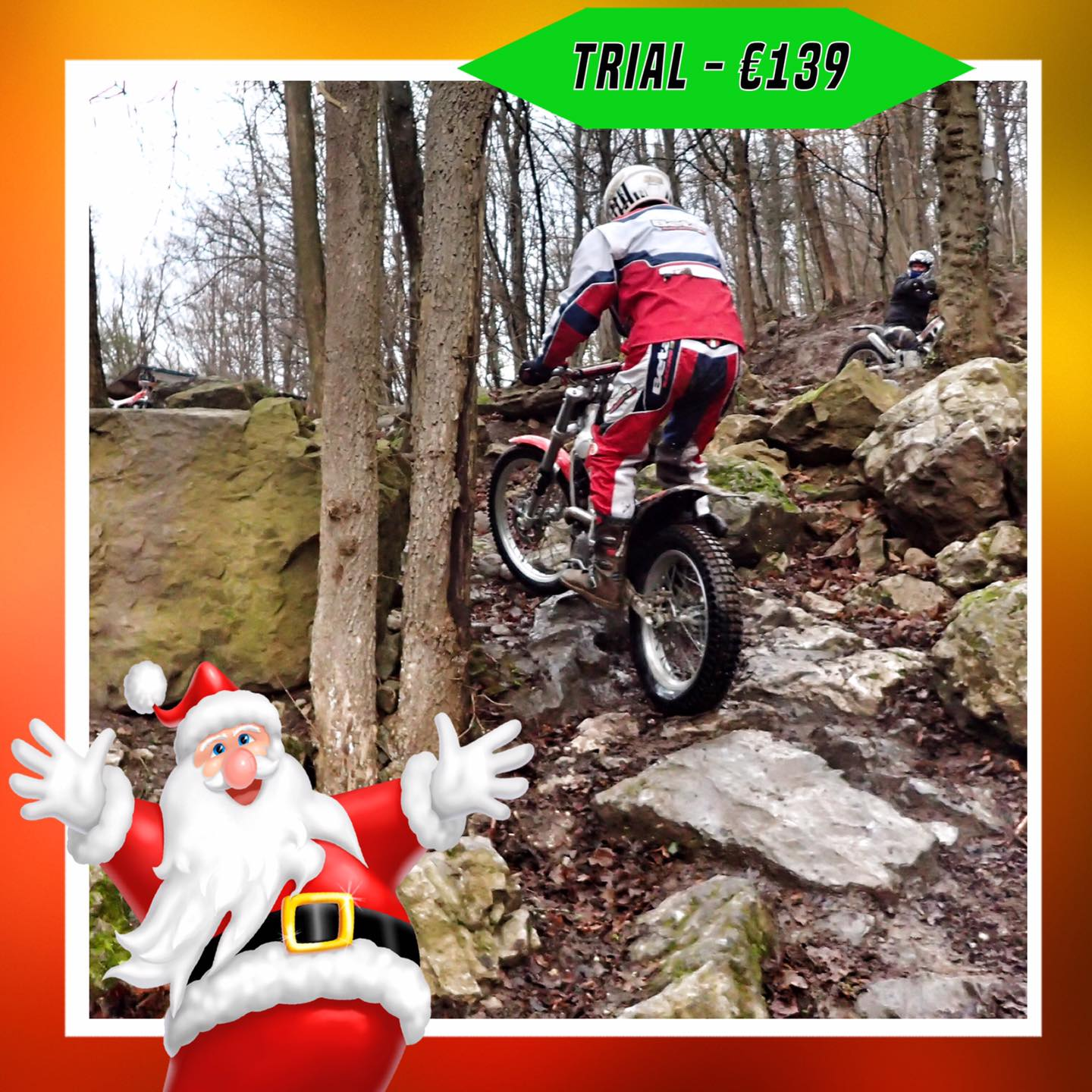Kerst-initiaties Bilstain Endurofun 23