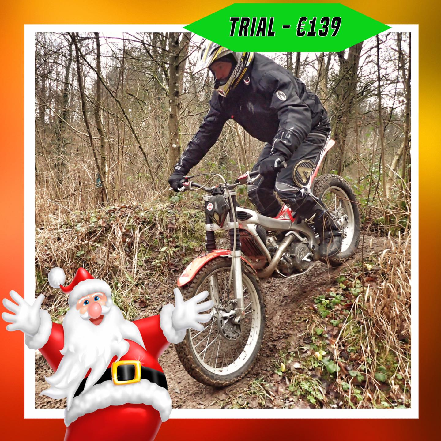 Kerst-initiaties Bilstain Endurofun 24