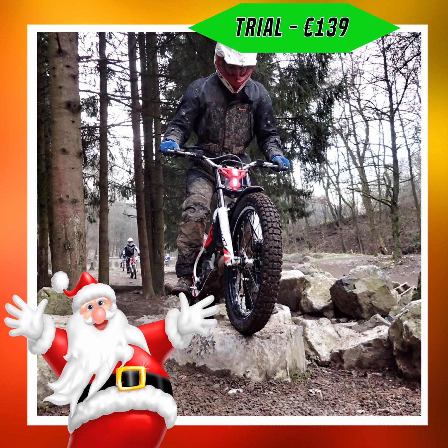 Kerst-initiaties Bilstain Endurofun 26