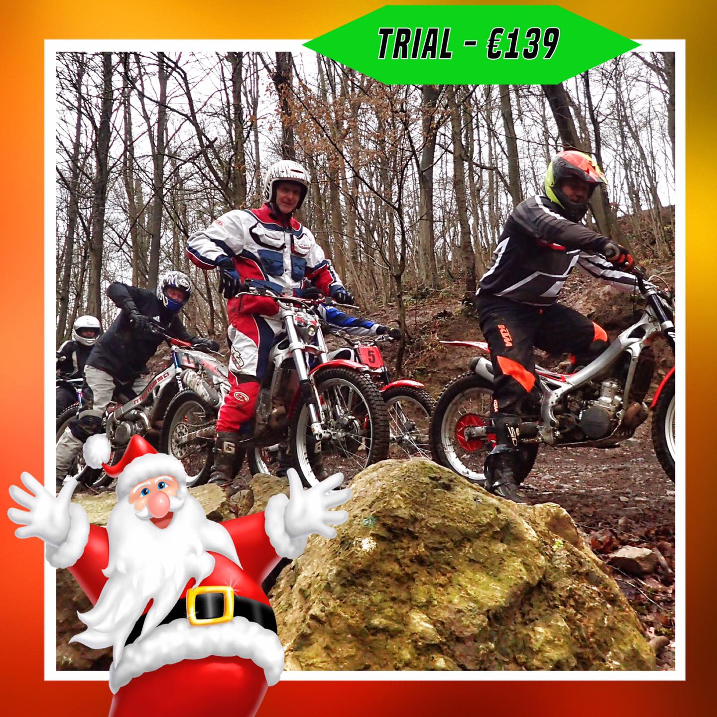 Kerst-initiaties Bilstain Endurofun 28