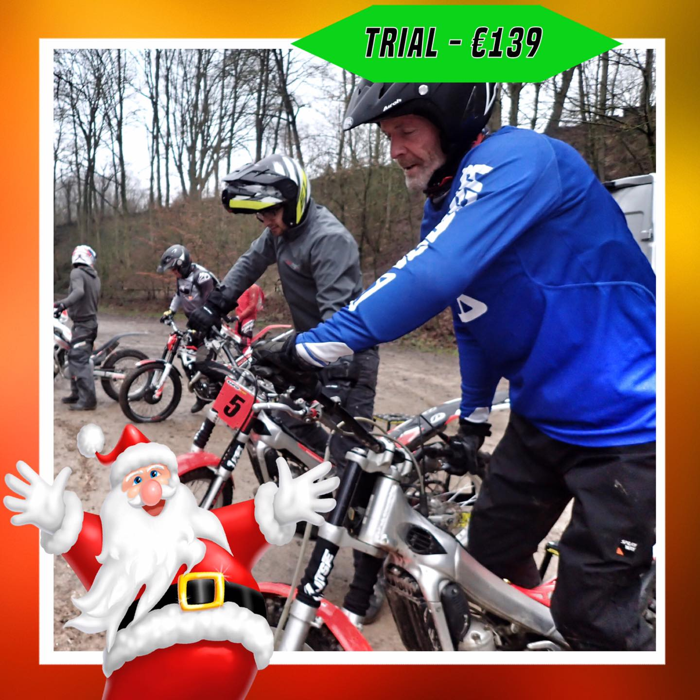 Kerst-initiaties Bilstain Endurofun 29