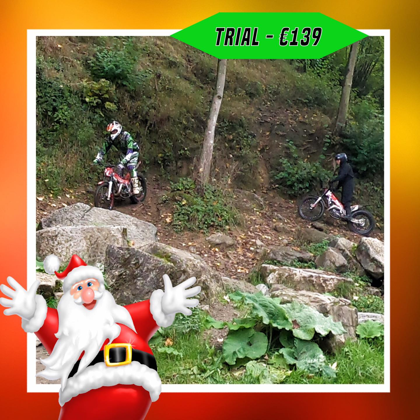 Kerst-initiaties Bilstain Endurofun 33