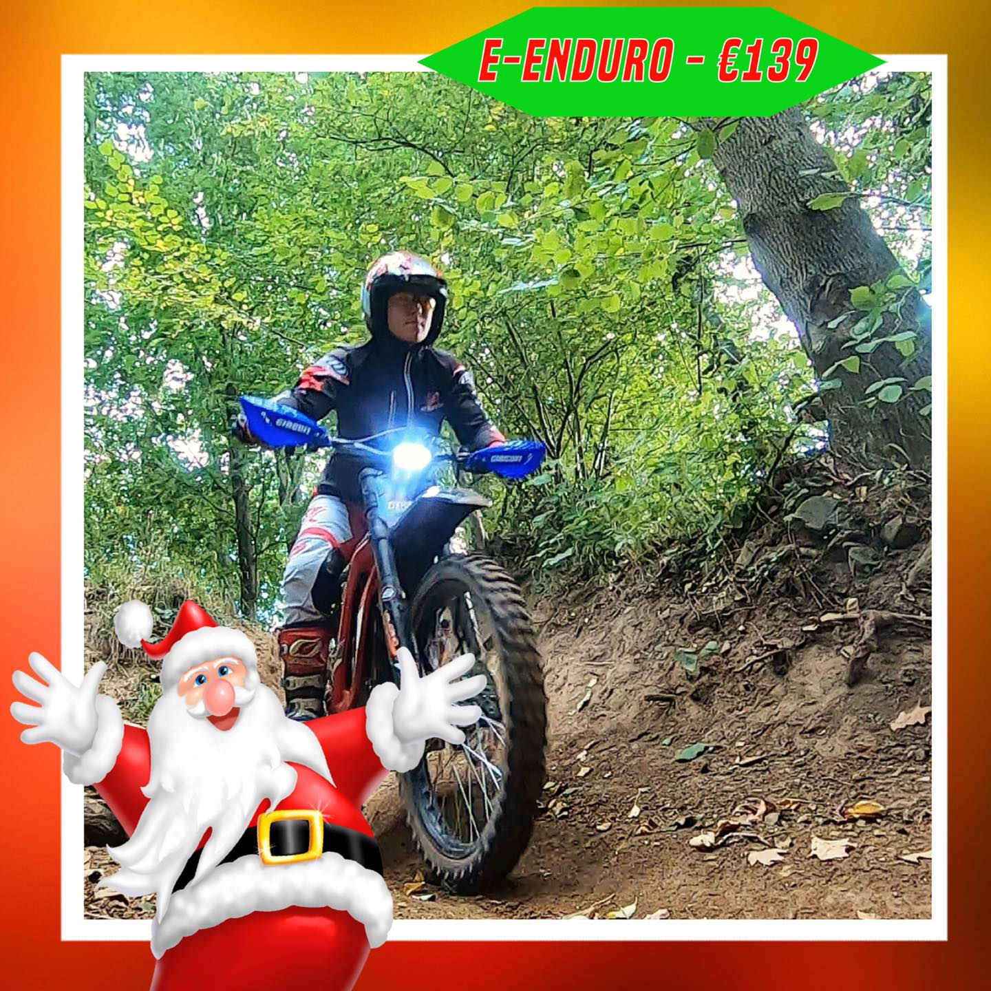 Kerst-initiaties Bilstain Endurofun 38 Surron