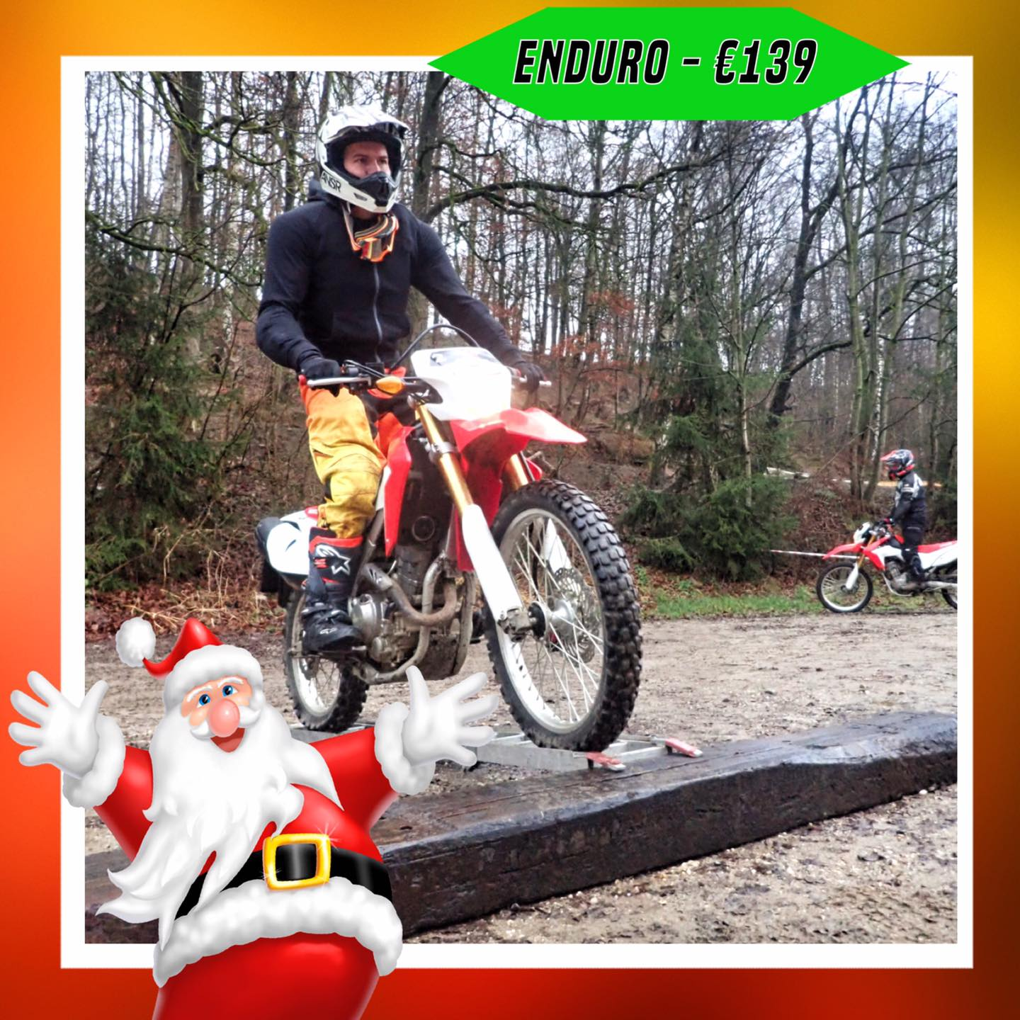 Kerst-initiaties Bilstain Endurofun 6