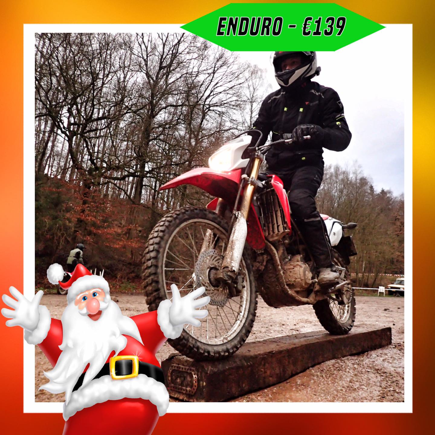 Kerst-initiaties Bilstain Endurofun 8