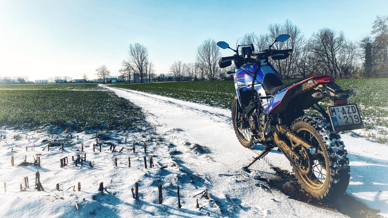 Endurofun Yamaha Tenere mid winter 3